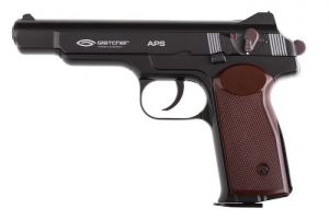 Air pistol Gletcher APS Blowback CO2 4.5 mm.
