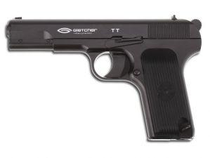 Air pistol Gletcher TT Blowback CO2 4.5 mm.