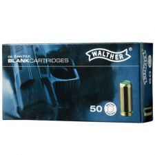 Blank cartridges Walther 9 mm.