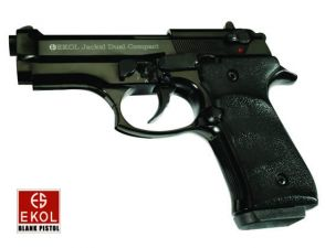 Blank pistol Ekol Voltran Jackal Dual Compact Black