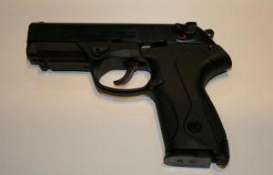 Blank pistol Bruni mod. P4 - 9 mm.