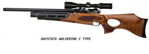 "Air rifle Daystate Wolverine ""C"" Type FAC 5.5 mm."
