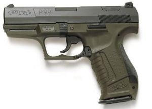 Blank pistol Walther P99 Military