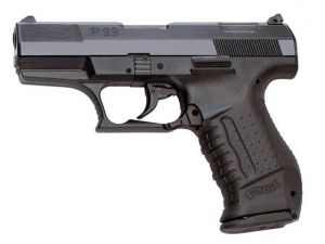 Blank pistol Walther P99 Black