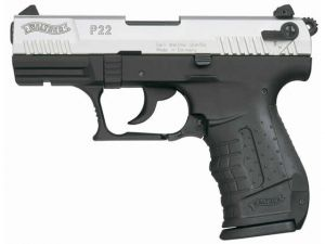 Blank pistol Walther P22 Chrome