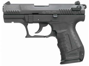 Blank pistol Walther P22 Black
