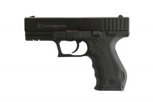 Газов пистолет Carrera Arms GT60 MAT BLK LUX 9 мм