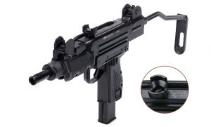 Air pistol Gletcher UZM Blowback CO2 4.5 мм.