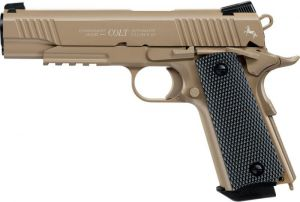 Air pistol Colt M45 FDE CQBP