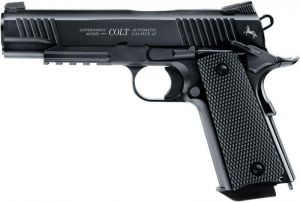 Air pistol Colt M45 BLACK CQBP