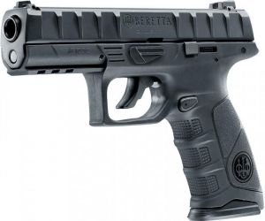 Air pistol Beretta APX Black version