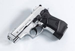 Blank pistol Zoraki 2914 Shiny chrome