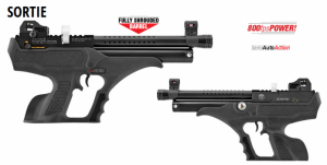 Air gun Hatsan Sortie PCP 4.5 mm / 5.5 mm