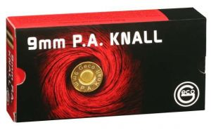 Blank cartridges Geco 9 мм. P.A.