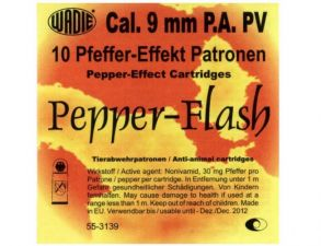 Gas cartridges PV-Flash 9 mm. P.A. Pistol