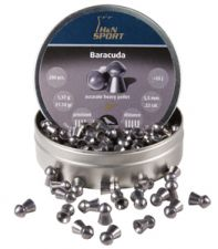 Pellets for air gun H & N Baracuda 5.5 mm.