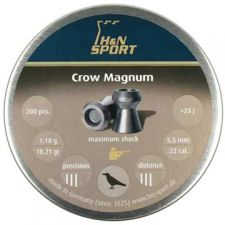 Pellets for air gun H & N Crow Magnum Diabolo 5.5 mm.