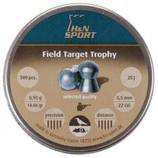 Pellets for air gun H & N Field Target Trophy 5.5 mm.