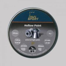 Pellets for air gun H & N Hollow Point 5.5 mm.