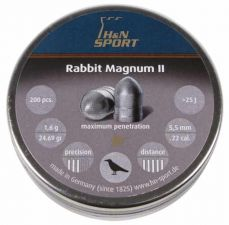 Pellets for air gun H & N Rabbit Magnum II 5.5 mm.