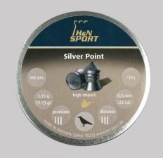 Pellets for air gun H & N Silver Point 5.5 mm.