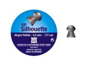 Pellets for air gun H & N Silhouette 4.5 mm.