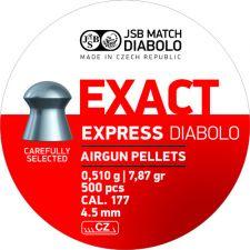 Pellets JSB Diabolo Exact Express 4.5 mm.