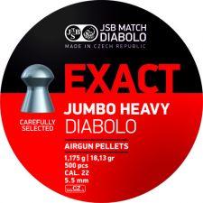 Pellet JSB Diabolo Exact Jumbo Heavy 5.5 mm. / 500 pcs