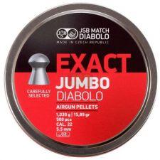 Pellets JSB Diabolo Exact Jumbo 5.5 mm./ 500 pcs