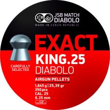 Pellets JSB Diabolo Exact King 6.35 mm.