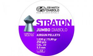Pellets JSB Diabolo Straton Jumbo 5.5 mm.