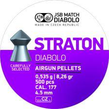 Pellets JSB Diabolo Straton 4.5 mm.