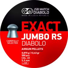 Pellets JSB Diabolo Exact Jumbo RS 5.5 mm.