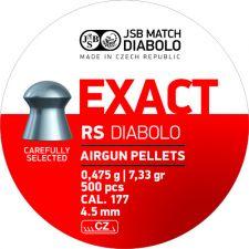Pellet JSB Diabolo Exact RS 4.5 mm.