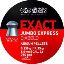 Pellets JSB Diabolo Exact Jumbo Express 5.5 mm.