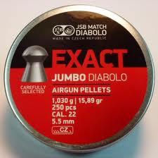 Pellets JSB Diabolo Exact Jumbo 5.5 mm.