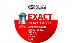 Pellets JSB Diabolo Exact Heavy 4.5 mm.