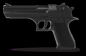 Blank pistol Retay Desert Eagle Black