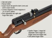 Air rifle Hatsan BT65 SB-W 5.5 mm.