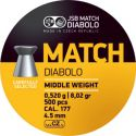 Чашки JSB Diabolo Match Middle Weight 4.5 мм.