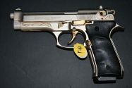 Газов пистолет Ekol Voltran F92 Firat Magnum Satin & Gold Engraved