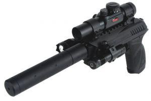 Air pistol Gamo PT-85 Tactical Blowback 4.5 mm.