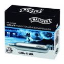 Walther valve maintenance CO2 capsules 12g.