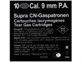 Gas cartridges CN-SUPRA cal. 9 mm. P.A. Pistol