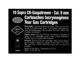 Gas cartridges CN-SUPRA cal. 9 mm. Revolver
